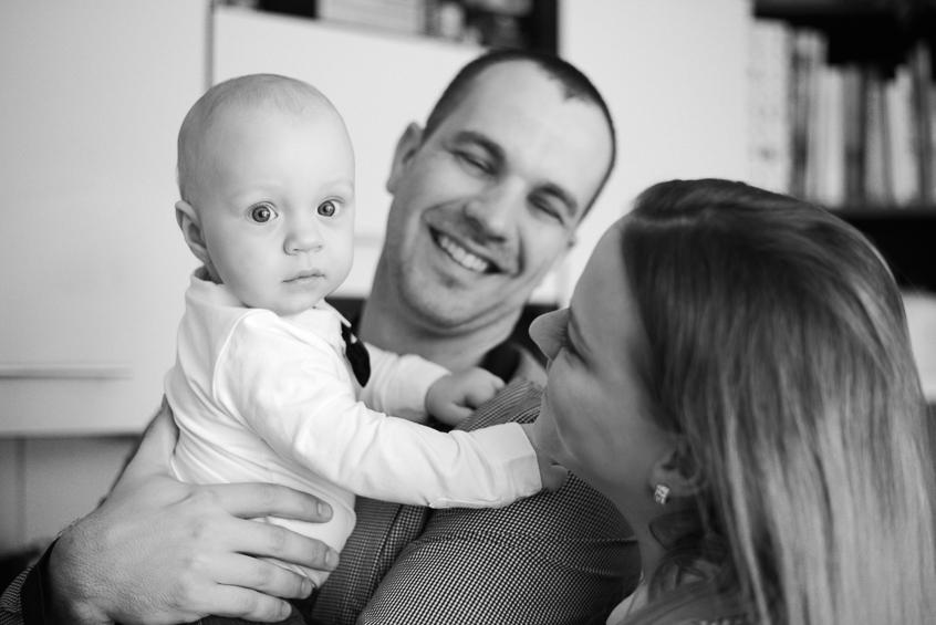 Oliverko s rodičmi