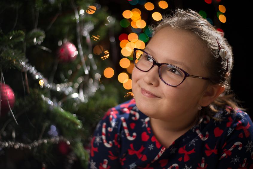 Vianočné fotenie  - Miška