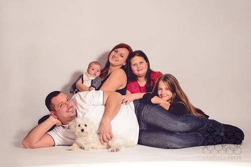 Rodinné foto - Katka a Peter