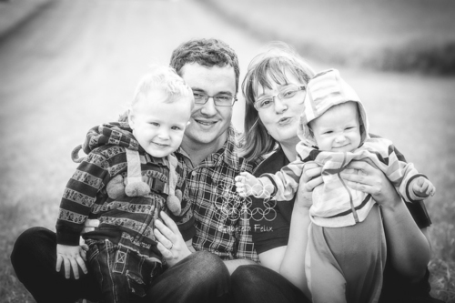 Rodinné foto - Matúš a Šimon