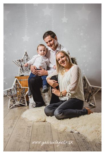 Rodinné foto - Lukáš, Mirka a Lukáško