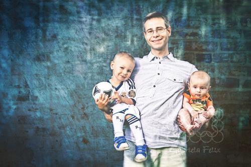 Rodinné foto - Jerguš a Emil