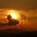 Sunset na Orave