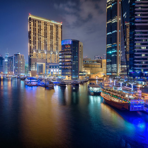 Dubai 4 Marina Lights