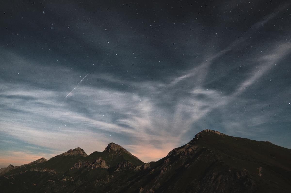 Zaujímavé nebo nad Belianskymi Tatrami