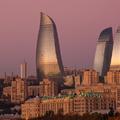 Ranné Flame Towers, Baku, AZ