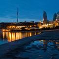 Ráno v  Baku
