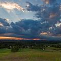 Západ slnka po búrke