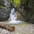 Kaplnkový vodopád  - Kyseľ - Slovenský  raj