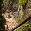 Machový vodopád.