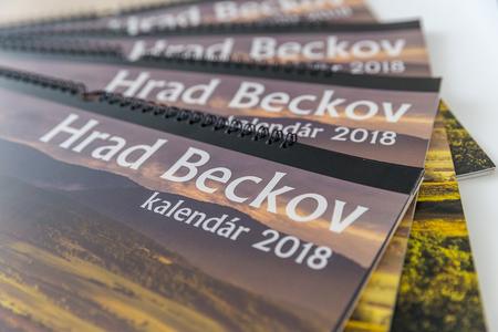 Kalendár Hrad Beckov 2018