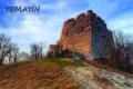 Magnetky hradu Tematín