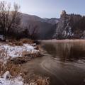 Zimný východ pod Strečnom II.