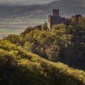 Tematin castle at last sunrays