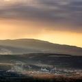 Východ slnka z Hájnice
