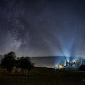 Hviezdna dráha nad slivkovou alejou