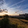 Sunset at Beckov castle