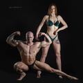 Bodybuilder a fitnesgirl