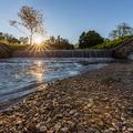 Evening creek Klanecnica