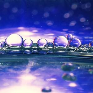 bublinkový abstrakt
