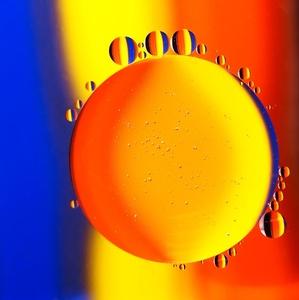 bublinkový abstrakt II.