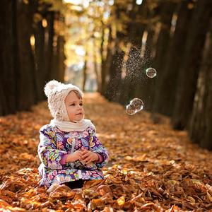Tamarka, jeseň a bublinky :-)