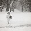 V snehu BW