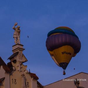 Záverečná  balónová fieste