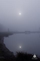 Jazero v hmle