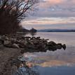... zrkadlenie na Dunaji ...