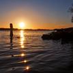 ... keď slnko zapadá na Dunaji
