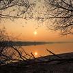 pokojná hladina Dunaja
