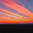 ... farebné ráno nad poľom ...