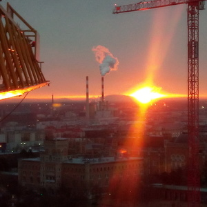 východ slnka Wien