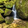 Vodopád na Suché Kamenici