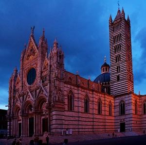 Podvečer v Sienne