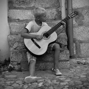 Malý muzikant, Krk