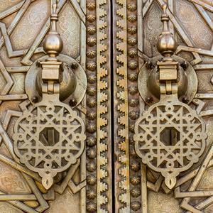 Palácová brána vo Fese
