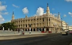 Budova opery v Havane