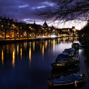 Nočný Amsterdam 2