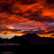 Západ slnka nad tatrami