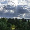 Slnko a mraky )))