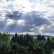 Slnko a mraky )