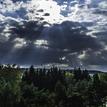 Slnko a mraky ))