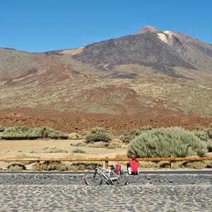 Pauza pod Pico del Teide