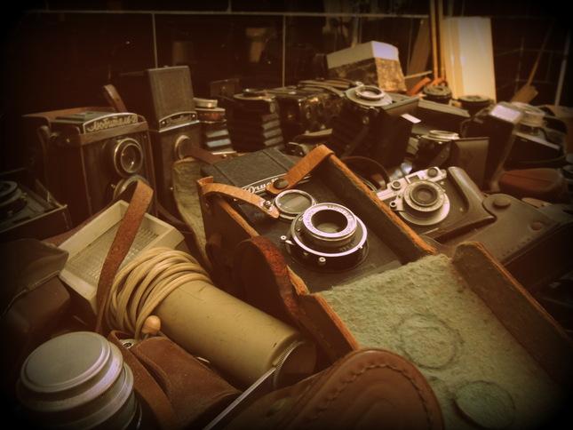 Staré fotoaparáty