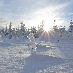 Snehová krajinka