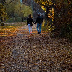 Jesenná prechádzka v parku