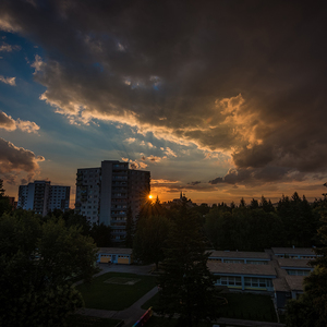 Západ Slnka na Chrenovej.....