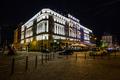 Nočná, rušná Bratislava
